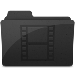 256x256px size png icon of MovieFolderIcon