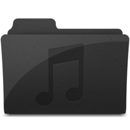 256x256px size png icon of MusicFolderIcon