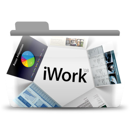 256x256px size png icon of iWork 08