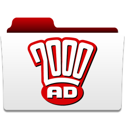 256x256px size png icon of 2000 AD