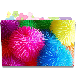 256x256px size png icon of Folder Flower