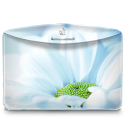 256x256px size png icon of Folder Nature Flower