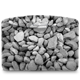256x256px size png icon of Folder Nature Stones