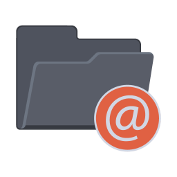 256x256px size png icon of At Folder