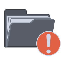 256x256px size png icon of Notification Folder