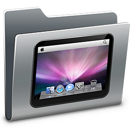 256x256px size png icon of 3D Desktop