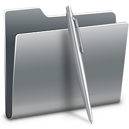 256x256px size png icon of 3D Docments Alt