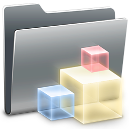 256x256px size png icon of 3D Icons