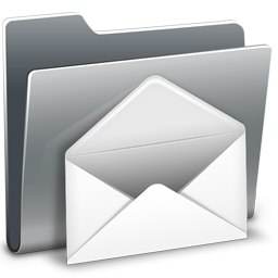 256x256px size png icon of 3D Mail