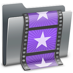 256x256px size png icon of 3D Movies