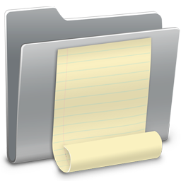 256x256px size png icon of 3D Notes