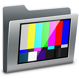 256x256px size png icon of 3D TV