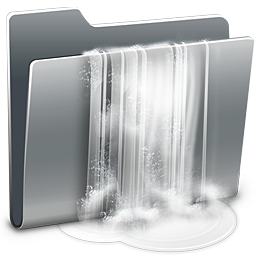 256x256px size png icon of 3D Torrent