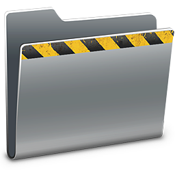 256x256px size png icon of Caution
