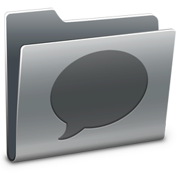 256x256px size png icon of Chats