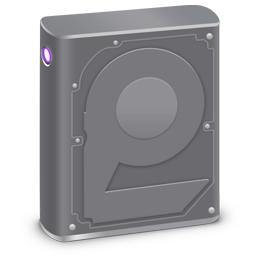 256x256px size png icon of Internal HD