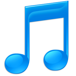 256x256px size png icon of Sidebar Music
