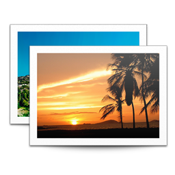 256x256px size png icon of Sidebar Photos