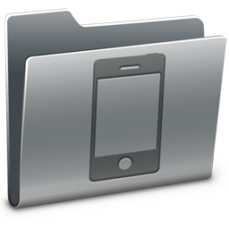 256x256px size png icon of iPhone