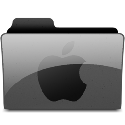 256x256px size png icon of applegeneric