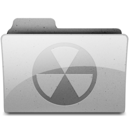 256x256px size png icon of burn Grey