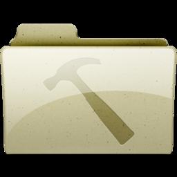256x256px size png icon of developer Tan