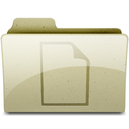 256x256px size png icon of documents Tan