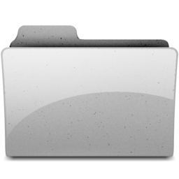 256x256px size png icon of generic Grey