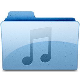256x256px size png icon of music