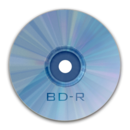 256x256px size png icon of Drive BD R