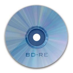 256x256px size png icon of Drive BD RE