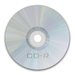 256x256px size png icon of Drive CD R
