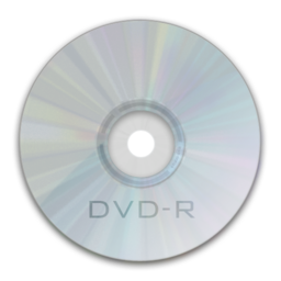 256x256px size png icon of Drive DVD R