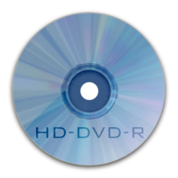 256x256px size png icon of Drive HD DVD R