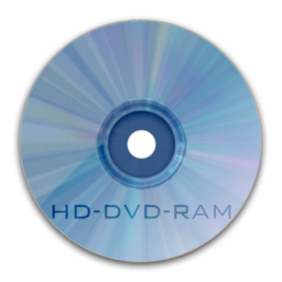 256x256px size png icon of Drive HD DVD RAM