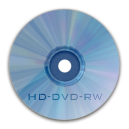 256x256px size png icon of Drive HD DVD RW