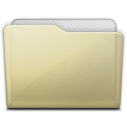 256x256px size png icon of beige folder generic