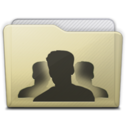 256x256px size png icon of beige folder group