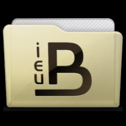 256x256px size png icon of beige folder ieub