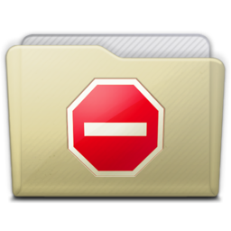 256x256px size png icon of beige folder private