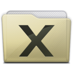 256x256px size png icon of beige folder system