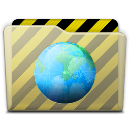 256x256px size png icon of beige folder webdev