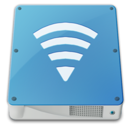 256x256px size png icon of drive external airport