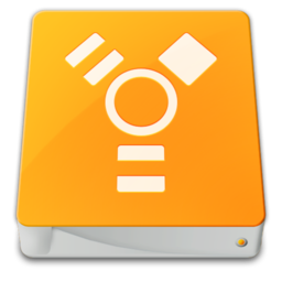 256x256px size png icon of drive external firewire