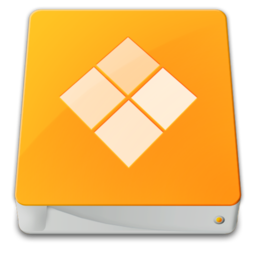 256x256px size png icon of drive external windows