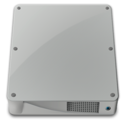256x256px size png icon of drive internal alt