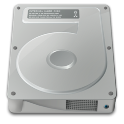 256x256px size png icon of drive internal