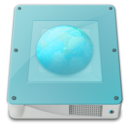 256x256px size png icon of drive server