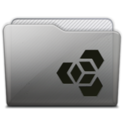 256x256px size png icon of folder adobe extension manager