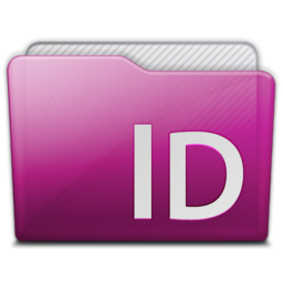 256x256px size png icon of folder adobe indesign